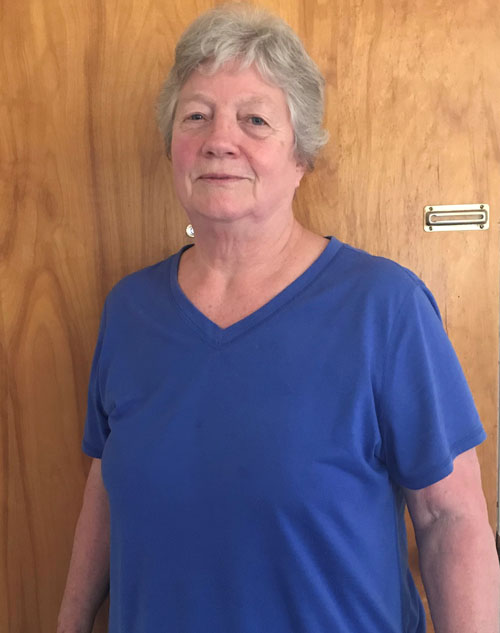 August 2018 Caregiver of the Month Gwen