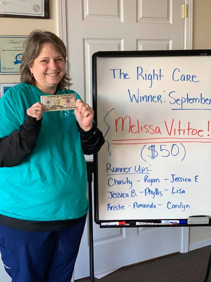 September Winner