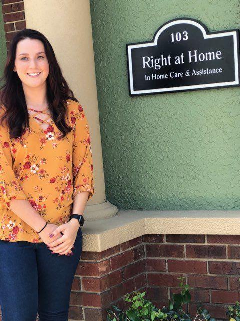 Brianna Shinn, Operations Supervisor, Right at Home Pasco