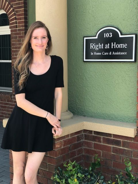 Shannon Houghton Care Coordinator of Right at Home Pasco