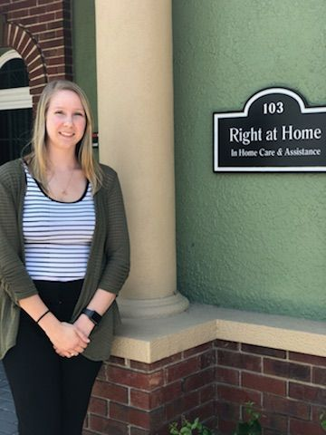 Stephanie Bouchard Care Coordinator of Right at Home Pasco
