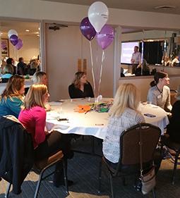 Alz Walk Group Talk Table