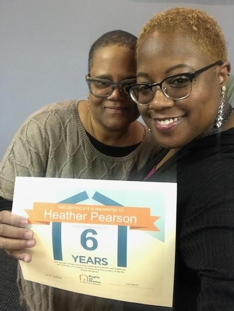 Recognizing 6 years of service
