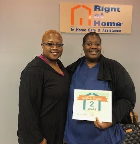 recognizing 2 years of service