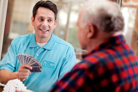 Caregiver Playing Cards