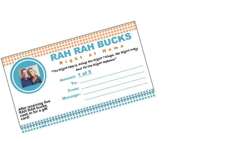 RAH Bucks