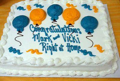 7th Anniversary Cake