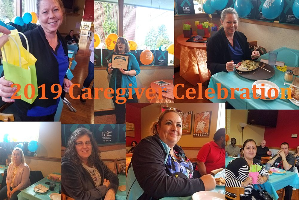 2019 Caregiver Celebration Collage