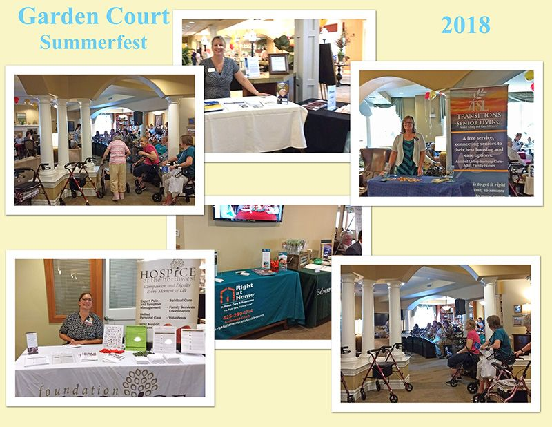 Garden Court Summerfest 2018