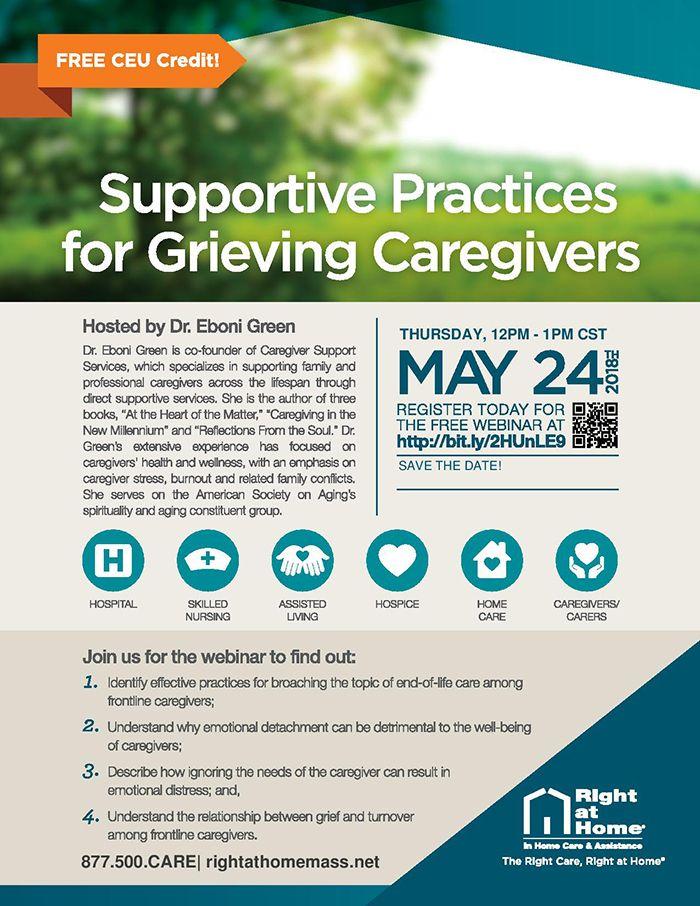 grieving caregivers webinar