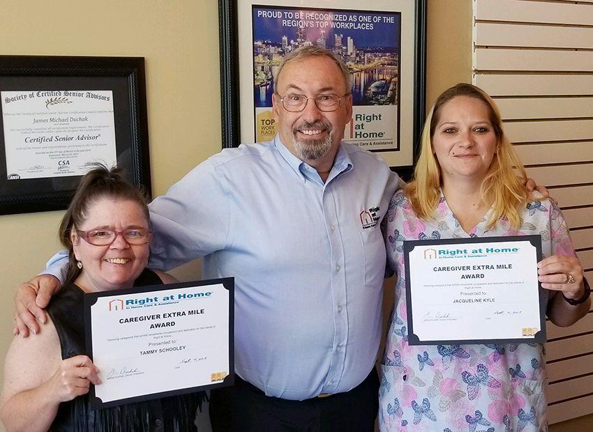Caregiver Appreciation awards