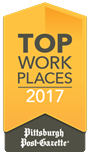 Pittsburgh Post-Gazette Top Work Place 2017