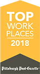 Pittsburgh Post-Gazette Top Work Place 2018