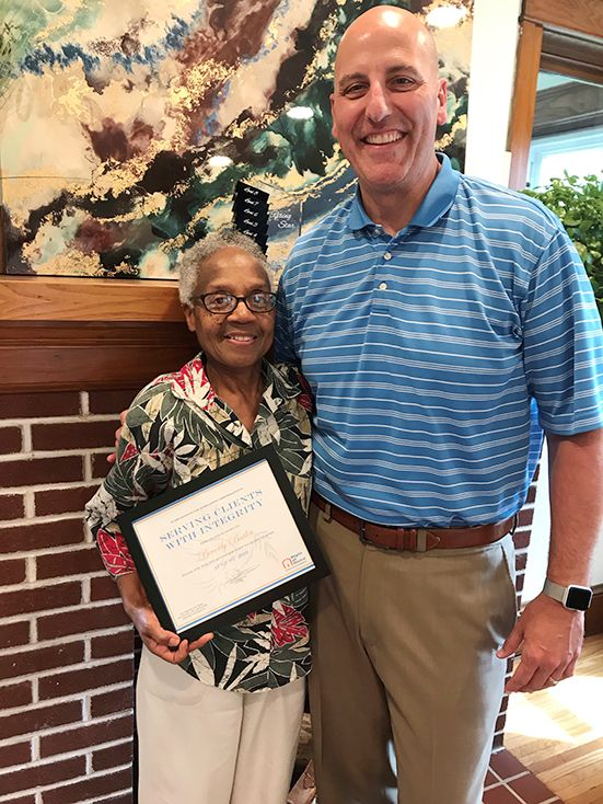 Caregiver of the Month August 2019
