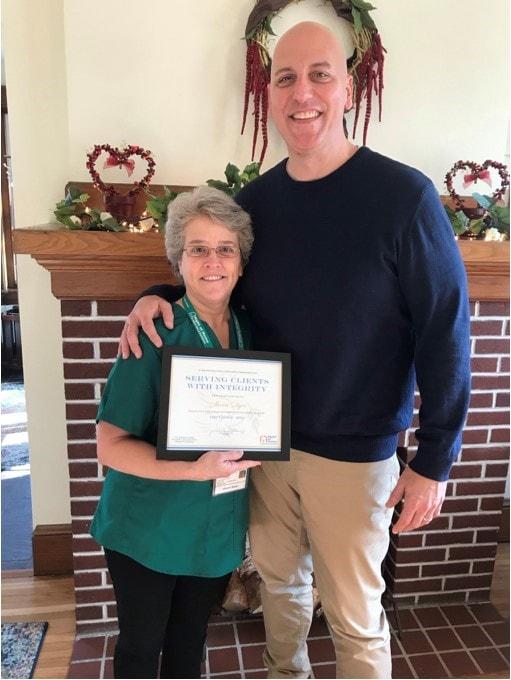 Caregiver Sherri Dyer