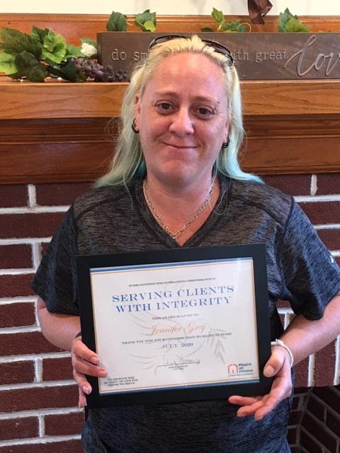 Caregiver Jennifer Grey