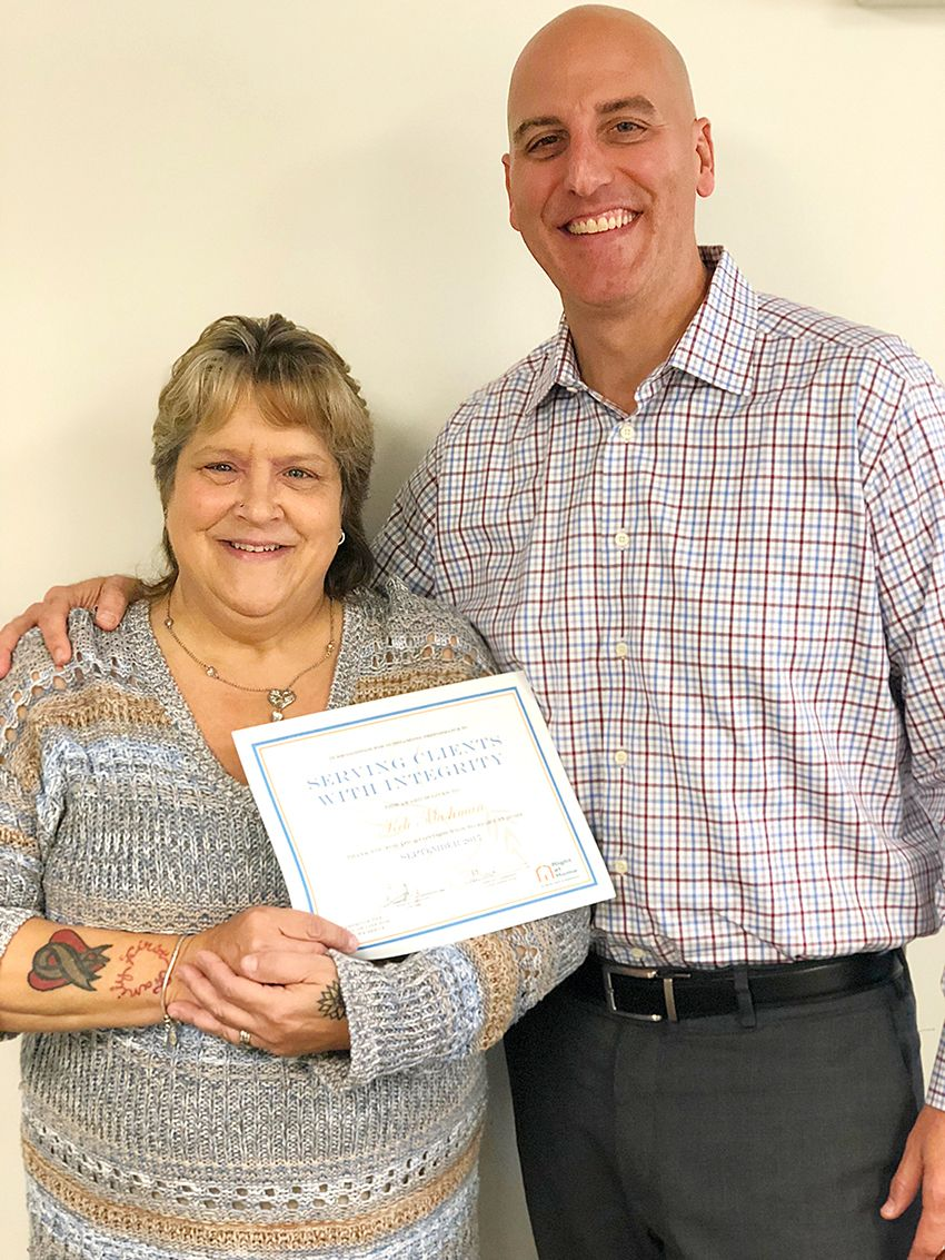 Caregiver of the Month of September 2017