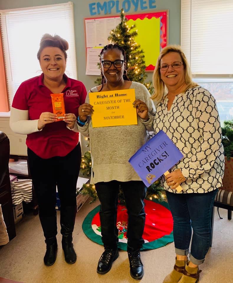 caregiver of the month november 2019 - Bonita