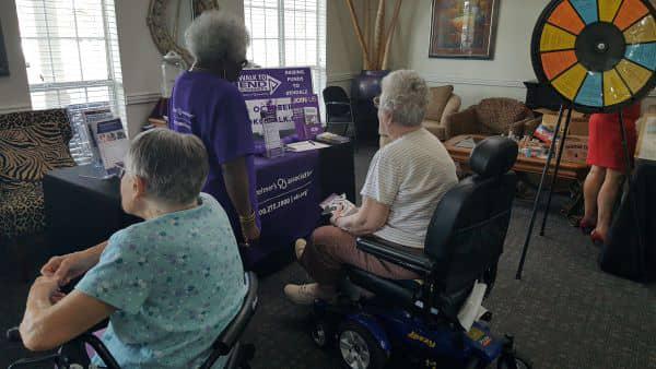 Hefner Mansions Health Fair