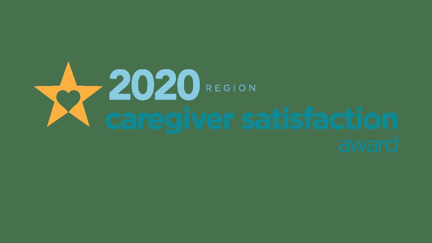 2020 Regional Caregiver Satisfaction Award