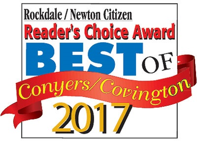 Reader's Choice Award 2017 from Rockdale Citizen and Newton Citizen