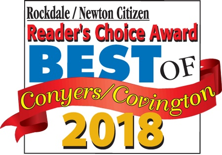 2018 Rockdale Citizen and Newton Citizen Readers Choice Award Best of Conyers and Covington