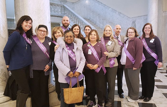 Alzheimer's Group at State Capitol