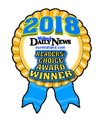 Midland Readers Choice Award Badge