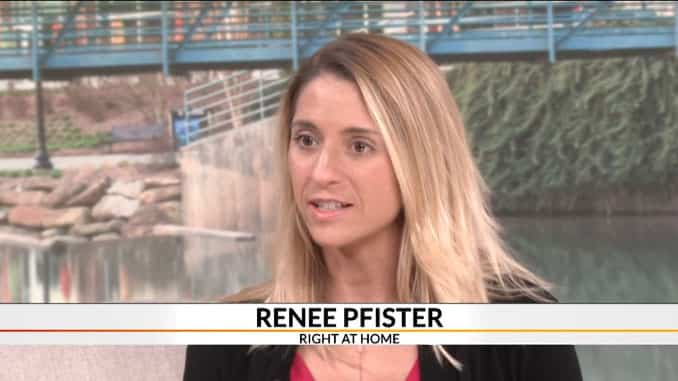 Renee Pfister, Right at Home owner