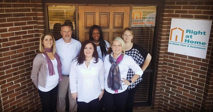 Staff at Right at Home Upstate In Home Care Services