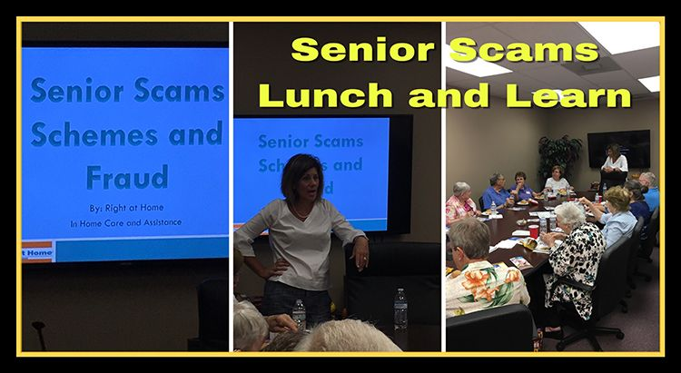 Senior Scams Lunch and Learn in Houston