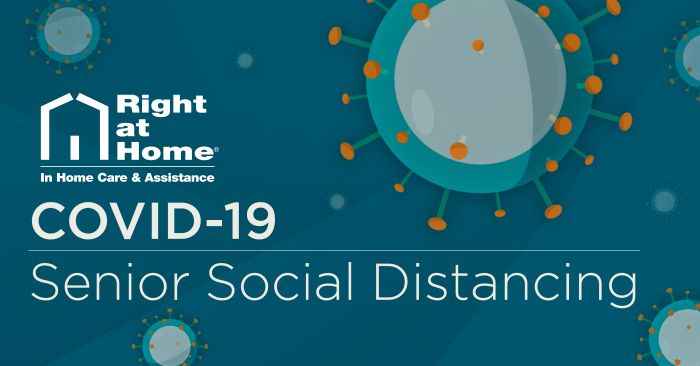 COVID-19 Senior Social Distancing header graphic