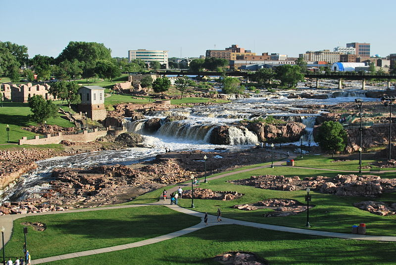 The Falls in Sioux Falls SD