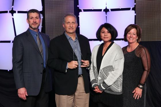 President's Marketing Excellence Award presented to Grace and Vernon Atwood at Home Improvement 2017
