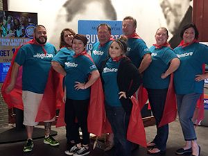 Team Building in Red Capes