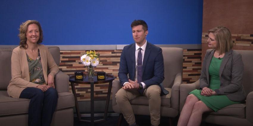 Stephanie Humphries on Iowa News Now CBS 2
