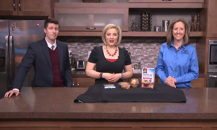 Right at Home Cedar Rapids on CBS2 Fox28 Discussing Elderly Nutrition