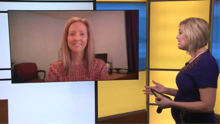 Stephanie Humphries on Iowa's News Now