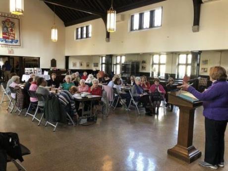 Bronxville Senior Center event