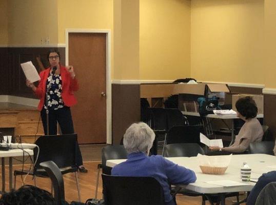 tuckahoe senior center presentation