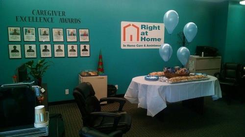 caregiver appreciation party