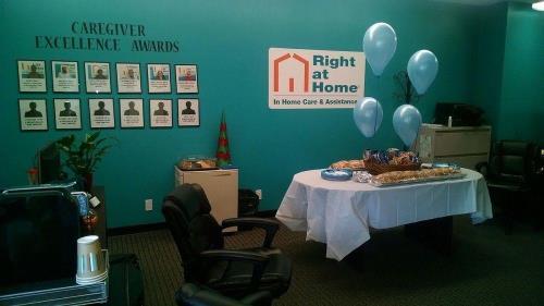 caregiver appreciation party