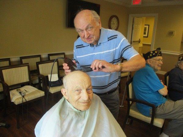 Veteran Haircuts
