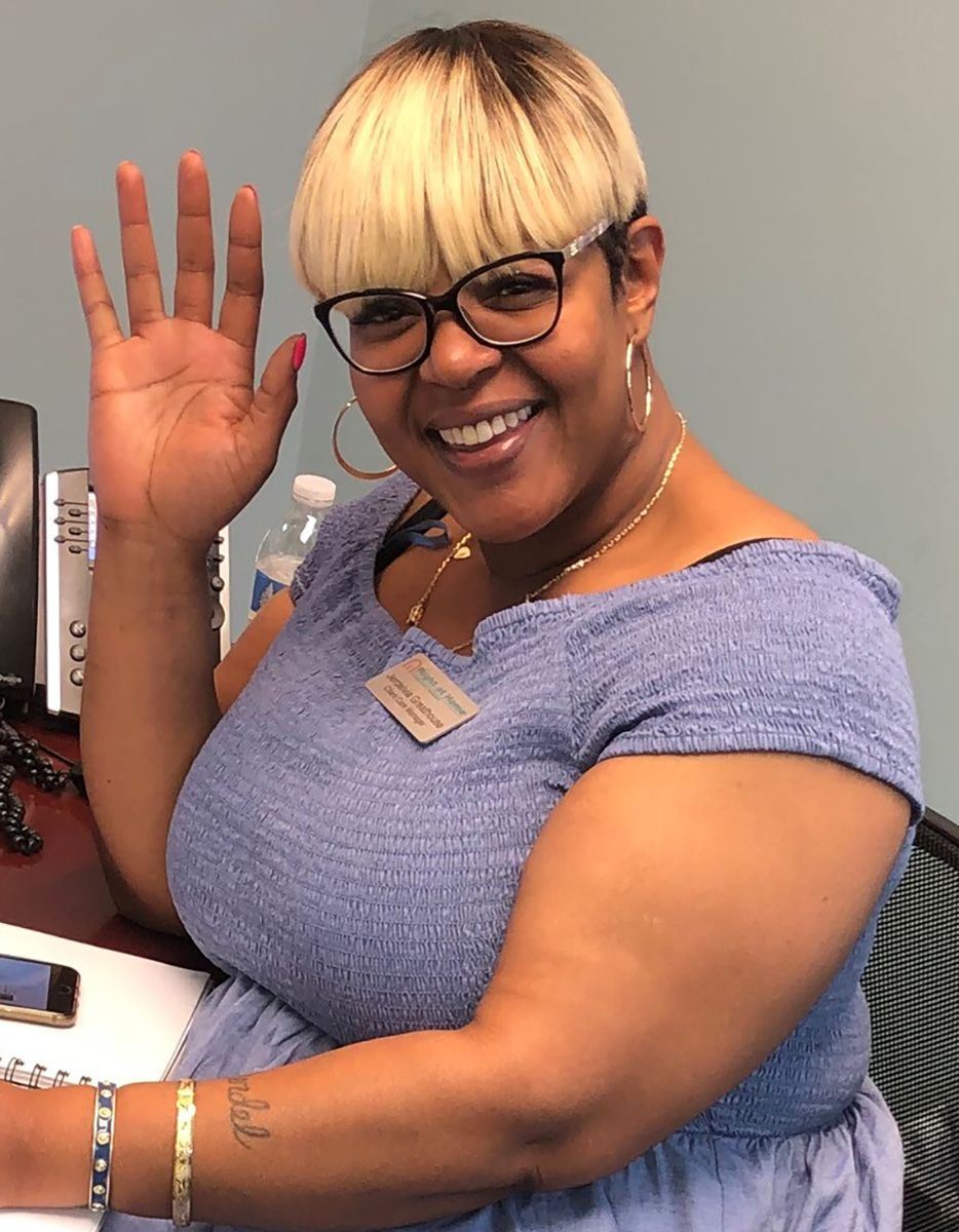 Jerdelvia Greathouse, Client Care Manager