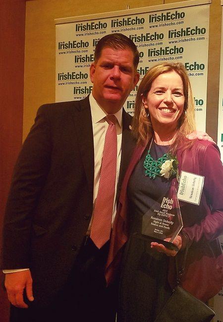 rosaleen irish echo award