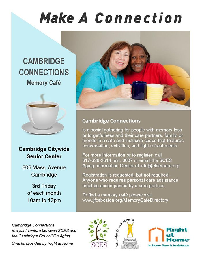 cambridge memory cafe
