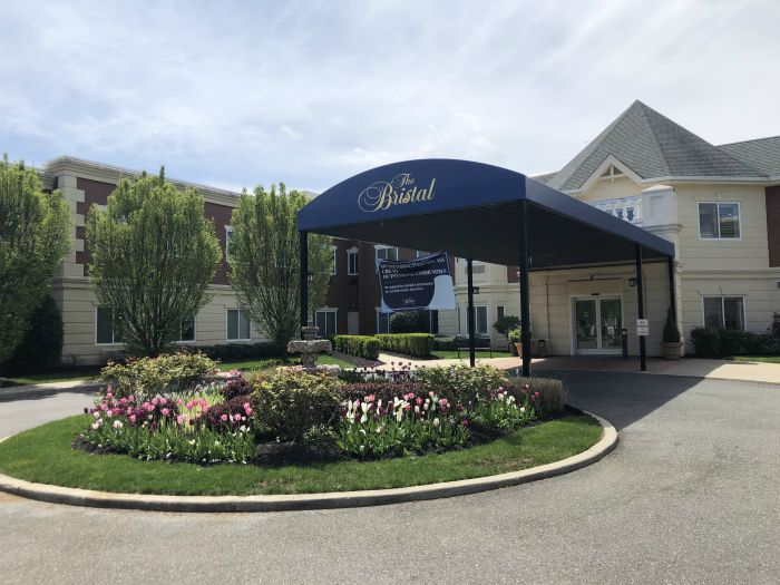The front of The Bristal Assisted Living in Massapequa, NY