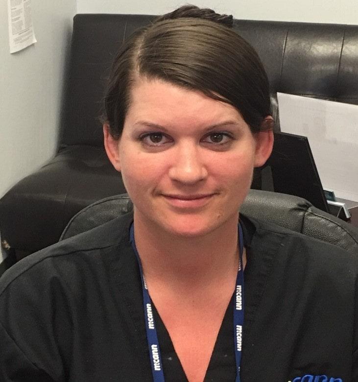 Caregiver Paula Stephenson