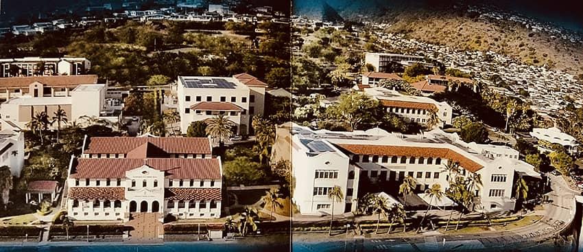 Chaminade University Aerial Photo