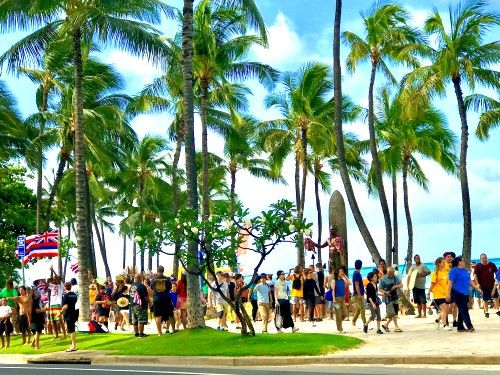Hawaii Meals on Wheels Charity Walk Eat Party